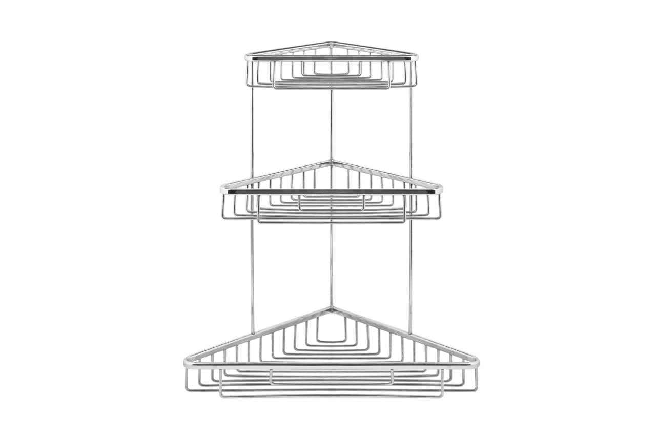 khay lưới góc 3 tầng lớn inox 304